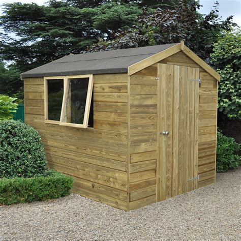 Garden Shed 8x6 Best Price by 8x6 Forest Apex Tongue Groove Wooden Shed Departments