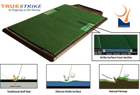 golf hitting mats true strike golf mats golf practice mats