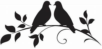 Silhouette Birds Dove Clip Doves Clipart Bird
