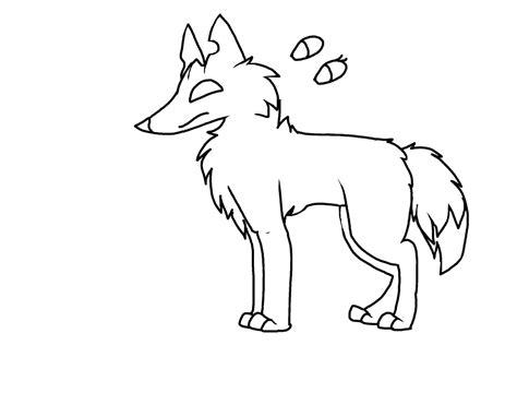 animaljam arctic wolf base  teabvg  deviantart