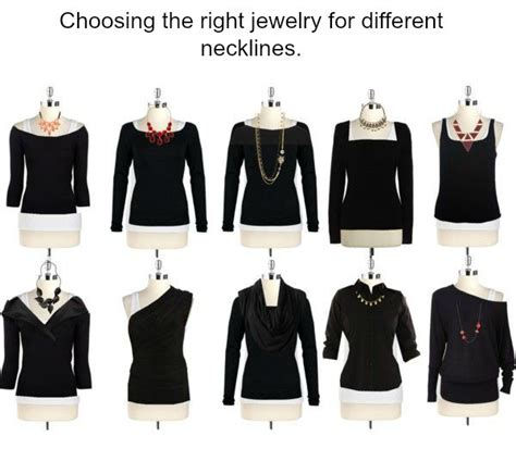 How To Accessorize A Boat Neck Dress by Tips Choosing The Right Jewelry For Different Necklines