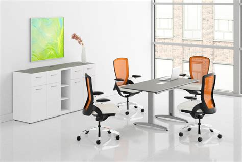 hon preside small meeting room contemporary conference table
