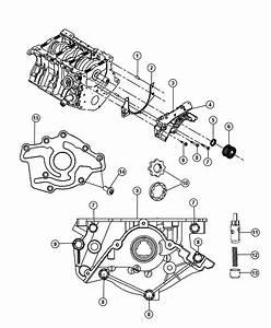 2009 Dodge Journey Engine Oiling Pump 3 5l  Egf