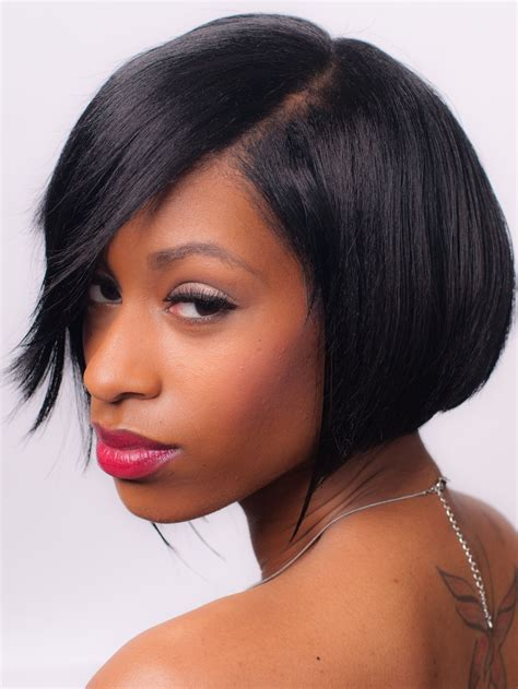 short lace front remy human hair wig  african