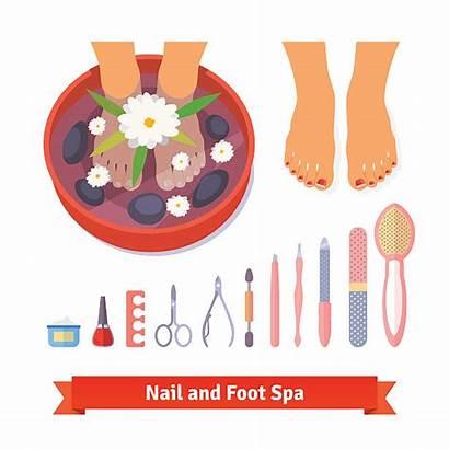 Pedicure Vector Clip Manicure Foot Spa Care