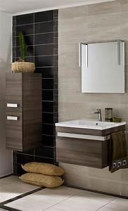 meuble salle de bain des modeles tendance cote maison With porte d entrée pvc avec vasque salle de bain pierre noire