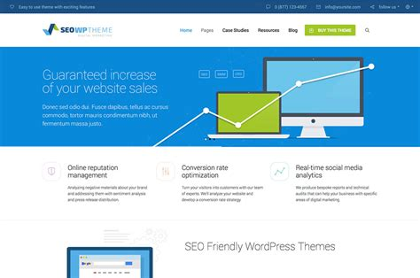 20+ Best Seo Friendly Wordpress Themes 2017