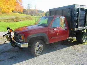 Purchase Used 1995 Chevy K3500 4x4 Dumptruck W   Plow