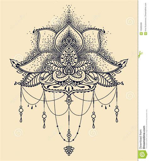 tatuaggio fiore stilizzato tatuaggio fiore di loto stilizzato