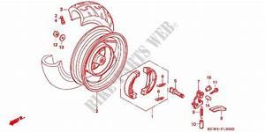 Rear Wheel For Honda Spacy 125 1995   Honda Motorcycles