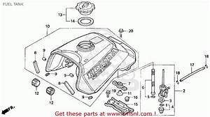 Honda Trx70 Fourtrax Service Repair Manual 1986 1987