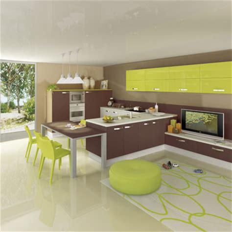 les cuisines à vivre mettez de la couleur dans votre cuisine l 39 offre des fabricants inspiration cuisine le