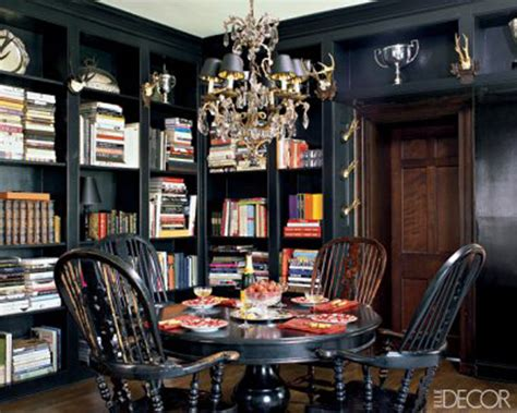 Dining In The Library When Dining Rooms Are Libraries, Too