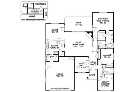 images craftsman style open floor plans home