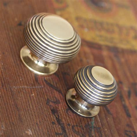 kitchen door knobs brass beehive cabinet knob