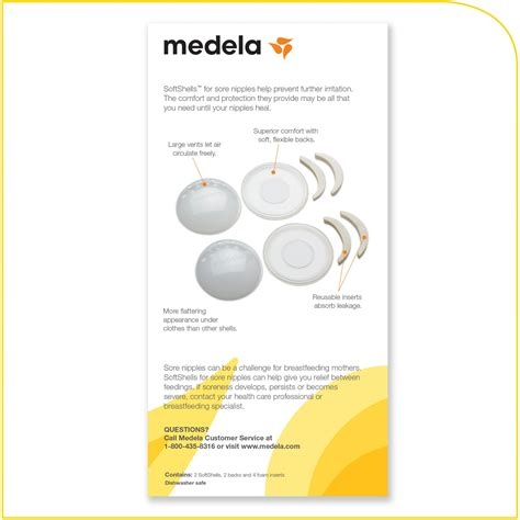 Medela Softshells For Sore Nipples Amazonca Baby