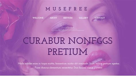 12 Adobe Muse Templates To 11 Free Adobe Muse Templates Themes 2018 Themelibs