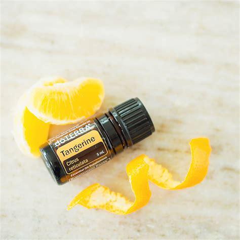 tangerine oil benefits doterra essential oils doterra
