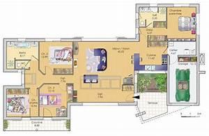 maison lumineuse detail du plan de maison lumineuse With superb faire plan de sa maison 4 maison lumineuse et spacieuse detail du plan de maison