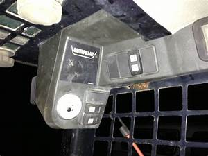 I Have A Cat 287b Skid Steer Question  I Bought The