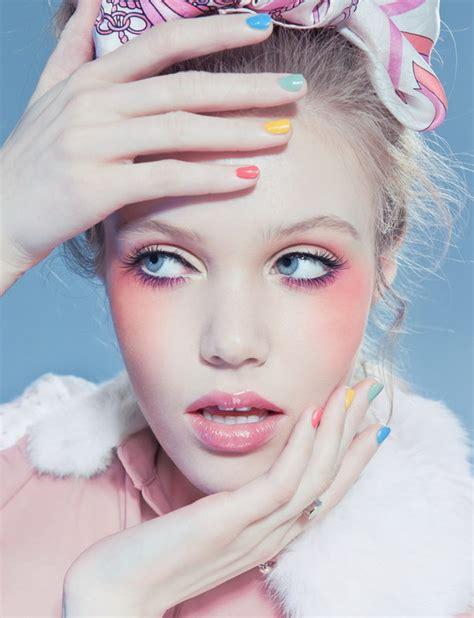 pretty makeup ideas  pastel colors