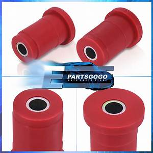 Polyurethane Jdm Red Front Lower Control Arm Bushing For
