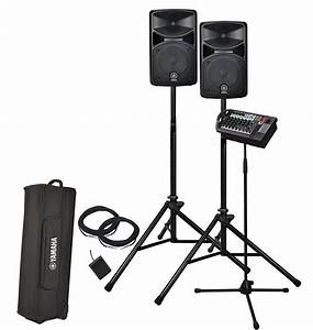 Yamaha Stagepas 400i : yamaha stagepas 400i portable sound system bundle with bag ~ Jslefanu.com Haus und Dekorationen