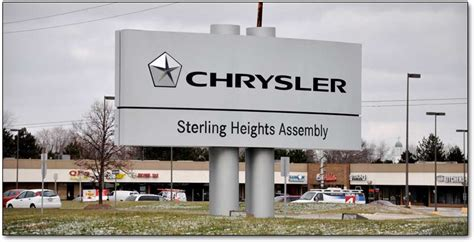 Sterling Heights Chrysler Plant by The 2010 Sterling Heights Assembly Plant Tour