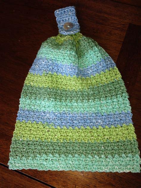 hanging towel crochet towel tops crochet kitchen towels