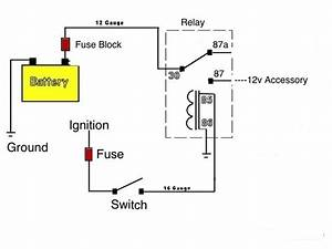 Wiring Accessories With A Relay - Polaris Rzr Forum