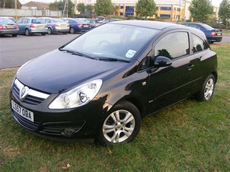 vauxhall corsa black used vauxhall corsa for sale under 12000 autopazar