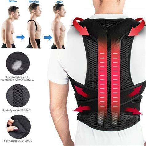 Posture Corrector for Women & Men, Adjustable Shoulder ...