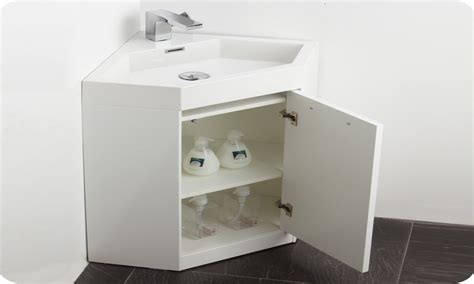 small bathroom corner sink vanity cabinet ideas