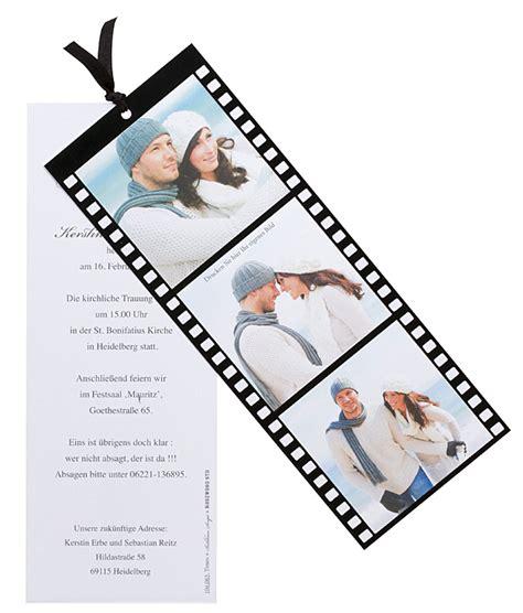 fotokarte filmstreifen als einladungskarte oder