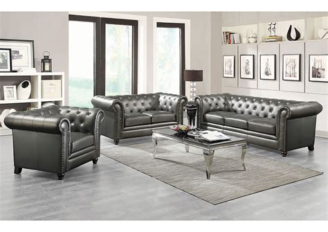 Atlantic Bedding And Furniture Annapolis by Atlantic Bedding And Furniture Annapolis Gunmetal Grey Sofa