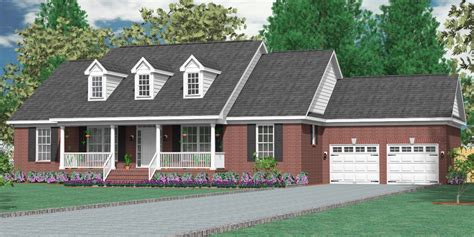 southern heritage home designs house plan    gaston