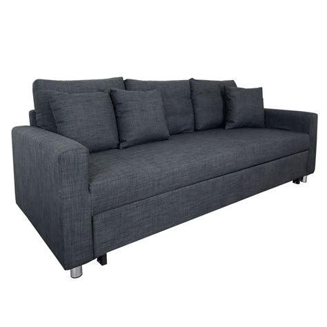 3 Sofa Bed by Vernon Sofa Bed Grey 3 Seater Furniture Home D 233 Cor