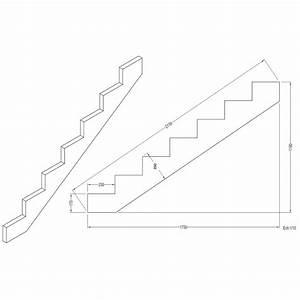 plan escalier bois exterieur planyaka with plan escalier With attractive plan maison avec cote 7 calculer un escalier droit