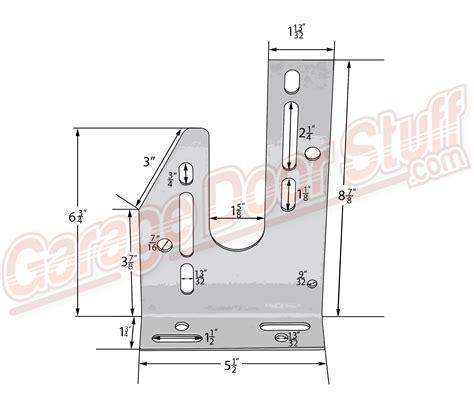 garage door center bearing plate garage door center bearing plate rh garage door stuff