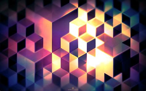 abstract cubes wallpaper by kay486 on deviantart