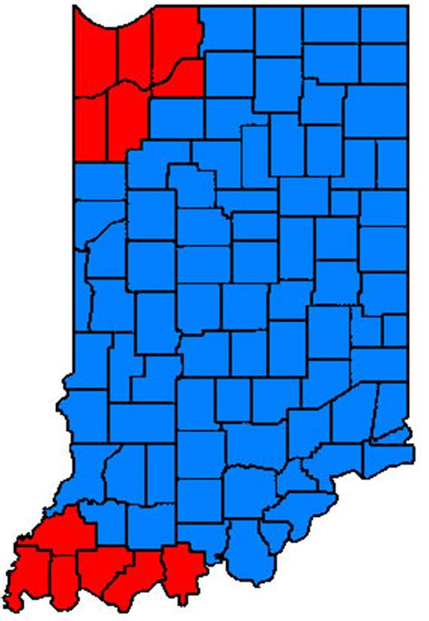 indiana time zones page city data forum