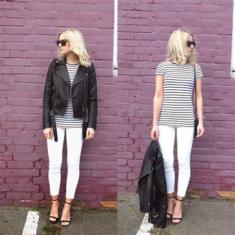 Fall Outfit Ideas with White Jeans - Outfit Ideas HQ