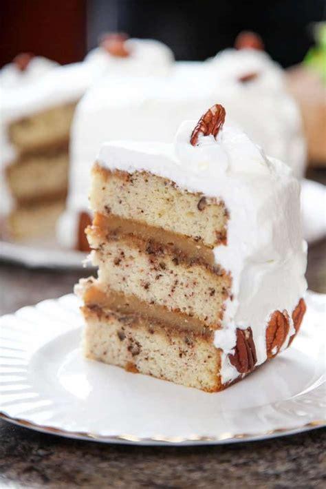 Pecan Pie Cake   i am baker