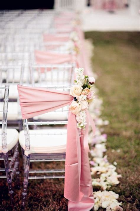 70+ Enchanting Sensational Ways to Dress Up Wedding Chairs