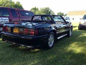 Ford Mustang Convertible 1993 Black For Sale. 1FACP45E3PF167602 1993 Ford Mustang GT 5.0 ...