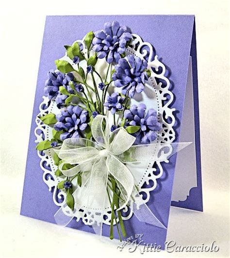 Memory Poppy Bouquet Blooming Posie Bouquet Memory Box Poppysts Dies