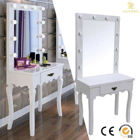 Vanity And Desk by White Vanity Makeup Dressing Table Set W Led Lighted