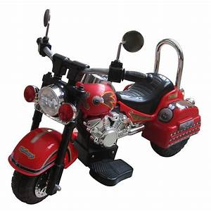 Shop Harley Style Red 6-volt Motorcycle - Free Shipping Today - Overstock Com