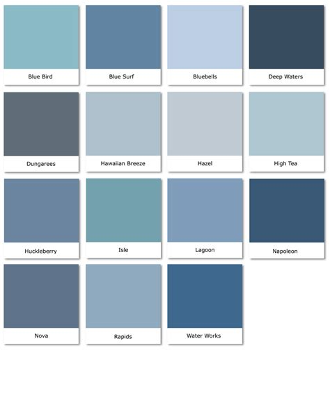 blue paint swatches images search