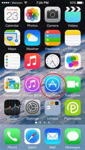 Picture of Apple App On iPhone